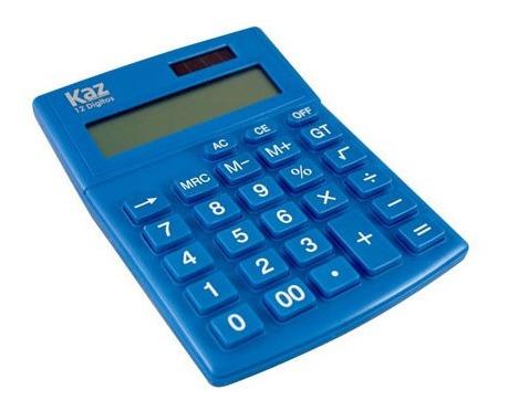 Calculadora De Mesa 12 Digitos Kz2222