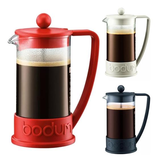 Cafetera Bodum Brazil Original Con Embolo 3 Pocillos Oferta