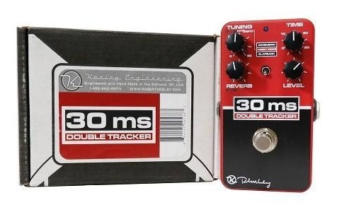 Pedal Keeley Engineering 30ms Double Tracker Reverb Delay