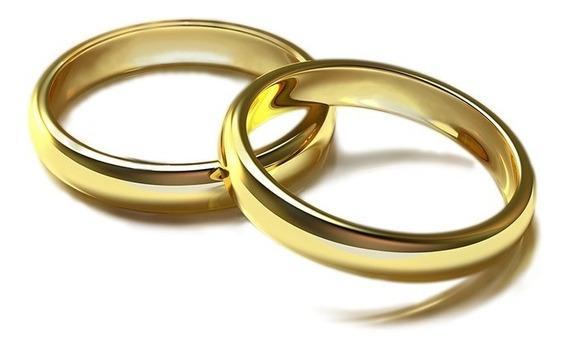 Anillos De Matrimonio Oro 14k