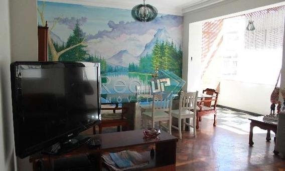 Ótimo Apartamento No Leme De 138m² De 3 Quartos Há 1 Quadra Da Praia!!! - 7498