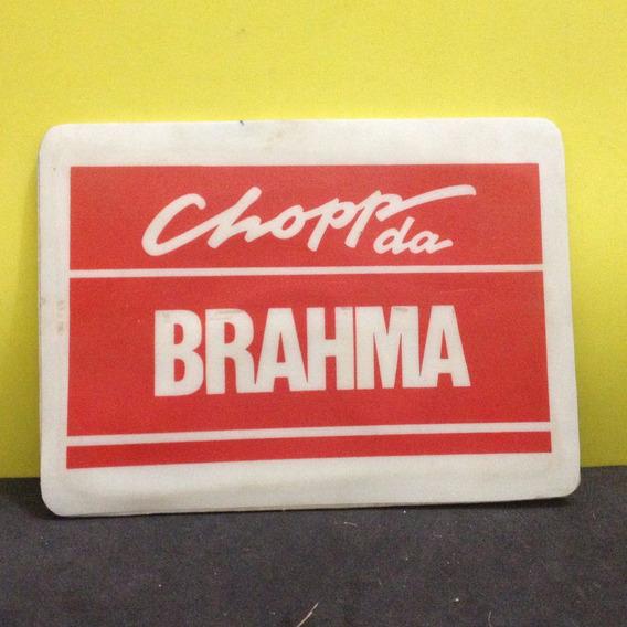 Mouse Pad Original Cerveja Brahma Lata Garrafa Refrigerante