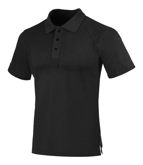 Camisa Polo Control Invictus Preta
