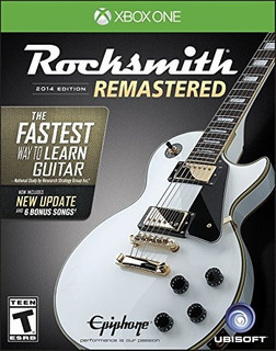 Rocksmith 2014 Edition Remastered Xbox One Standard Edition