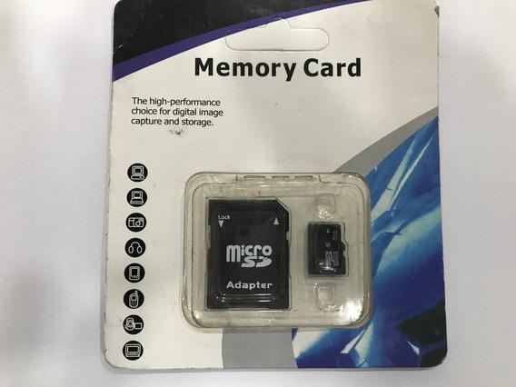 Cartão De Memória 4gb Micro Sd 4gb + Adaptador Original Novo