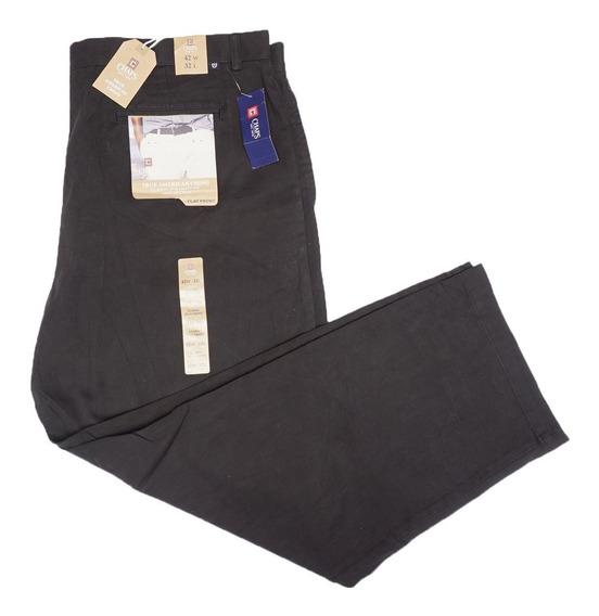 Pantalon Casual Chaps 42 X 32 American Chino Classic Fit