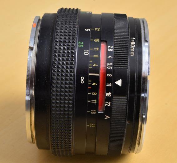 Rollei Planar Pqs Hft Lente 80mm F/2.8