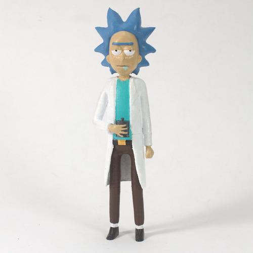 Boneco Rick Sanchez Seriado Rick & Morty - 3d Pintado À Mão