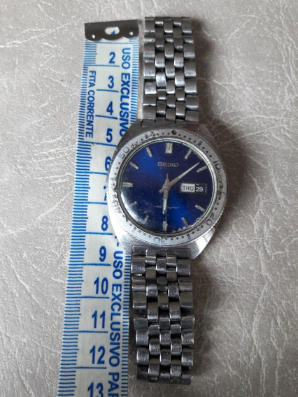 Relógio Antigo Seiko 6106-8100 Automático Water 70 Prof Raro