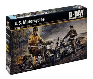 Us Motorcycles 1/35 Italeri No. 322