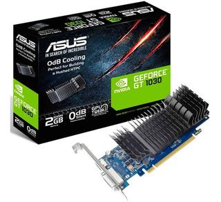 Tarjeta De Video Gt 1030 2gb Asus Nvidia Ddr5 Gt1030-2g-c /v