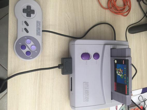 Vídeo Game Super Nintendo - Baby Original + Jogos Imperdível