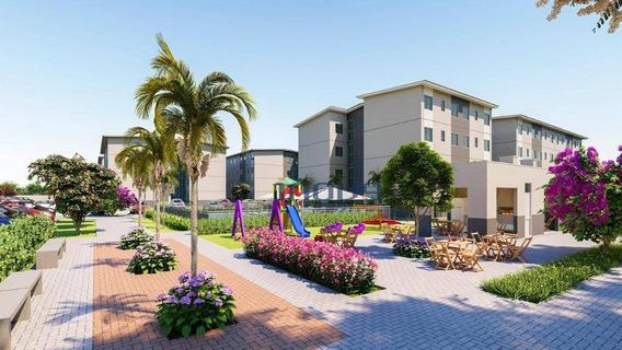 Apartamento Com 2 Dormitórios À Venda, 42 M² Por R$ 120.900 - Centro - Caucaia/ce - Ap1081