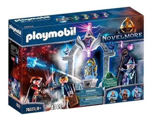 Playmobil Novelmore 70223 - Templo Del Tiempo C/ Caballeros