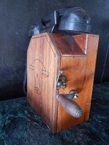 Telefone Antigo De Manivela