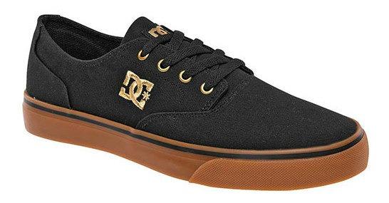 Tenis Hombre Pk 65162 Dc Shoes Negro