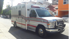 Ambulancia Ford E-350 Diesel Tipo3 2008 Demers Led Impecable