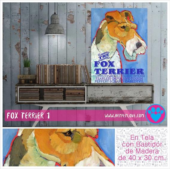 Cuadro - Art Pet Love - Fox Terrier 1.