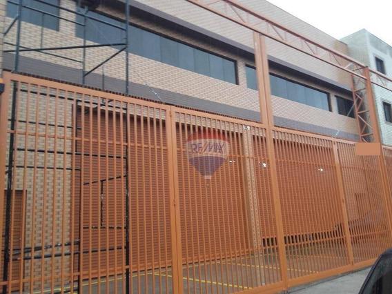 Galpão Industrial Novo,,assunção,são Bernardo Do Campo,são Paulo,20m Frente,27m Fundos, Galpão 350 M2 Mezanino 120m2 - Ga0042