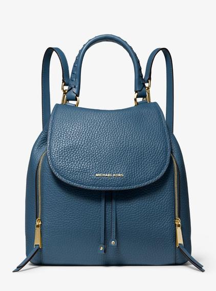 Michael Michael Kors Mochila Viv Large Leather Backpack