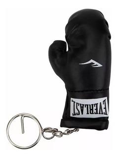 Chaveiro Luva De Boxe Glove Everlast Preto Preta Ever Last