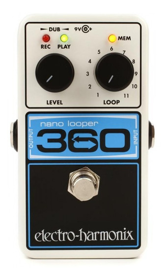 Pedal Looper 360 Electro Harmonix Nano Looper Nyc Usa