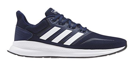 Zapatillas adidas Runfalcon Azul/blanco - Corner Deportes