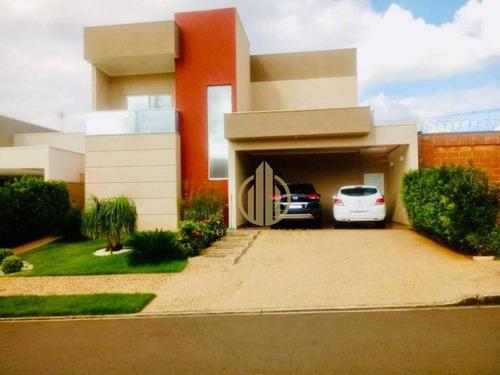 Imagem 1 de 30 de Casa Com 3 Dormitórios À Venda, 230 M² Por R$ 1.289.000,00 - Quinta Da Primavera - Ribeirão Preto/sp - Ca1455