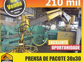 Prensa De Pacote 30x30 Automática