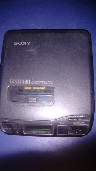 Disc Man Sony D34