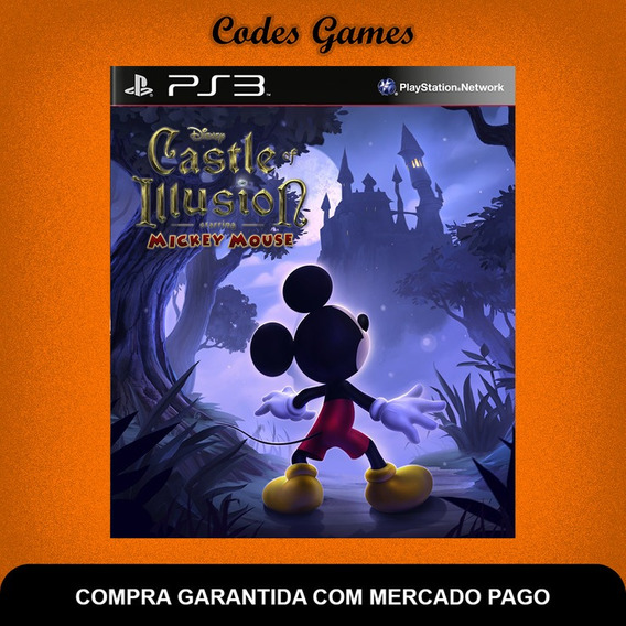 Castle Of Illusion Starring Mickey Mouse - Ps3 Envio Já