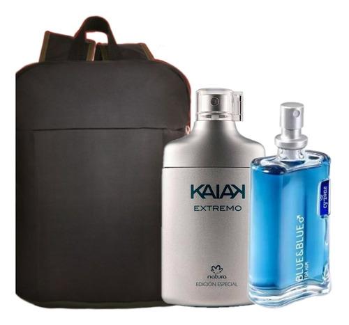 Perfume Kaiak Extremo + Blue And + Bols - mL a $382