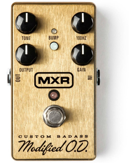 Mxr Custom Badass Modified M77 Overdrive C/ Nota Fiscal