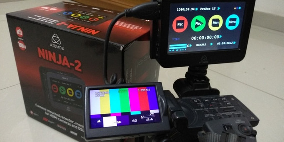 Atomos Ninja + Filmadora Sony Hdr-fx1000
