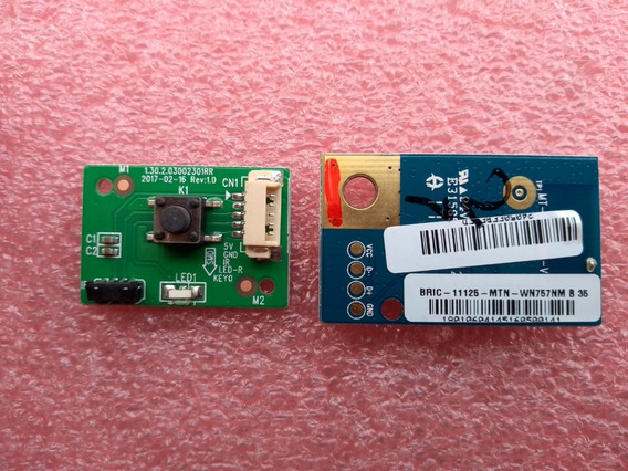 Botão Power - Sensor + Módulo Wifi Ptv48a12dsgwa *original*