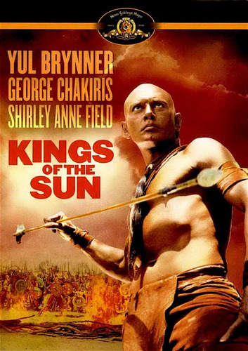 Los Reyes Del Sol Yul Brynner Pelicula Dvd Importado Mercado Libre