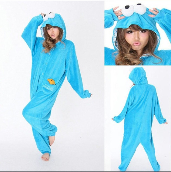 Pijama Mameluco + Envio Gratis Monstruo Come Galleta Xtreme