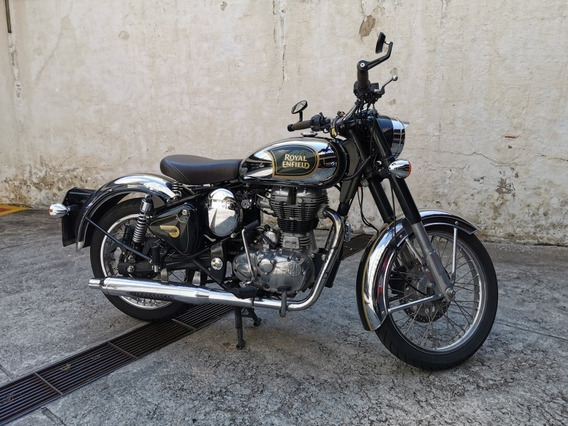 Royal Enfield Classic 500 Chrome Verde Abs