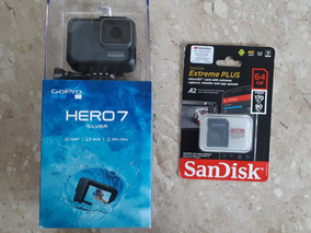 Gopro Hero 7 Silver (na Caixa) + Cartão De Memória 64gb