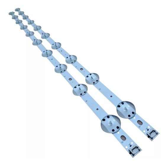 Kit Barra De Led LG 43uj6525 43uj6565 Aluminio Nova