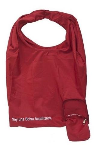 Bolsa Plegable Elaborada Poliester Con Estuche Y Cremallera