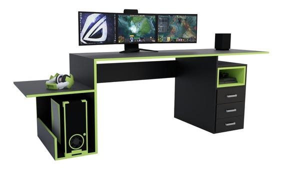 Escritorio Gamer Juegos Pc Playstation Xbox Ps4 Habitacion
