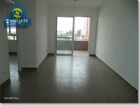 Apartamento Com 1 Dormitório À Venda, 50 M² Por R$ 300.000,00 - Campestre - Santo André/sp - Ap8072