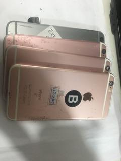 Lote De 4 Carcaça Do iPhone 6 E 6s