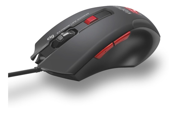 Mouse Gamer Night Mare 4000 Dpi - Elg Mgnm