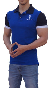 Playeras Polo John Leopard Ajuste Muscle Fit Stretch Trendy