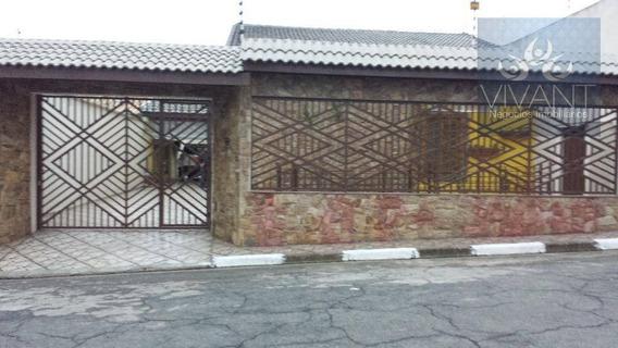 Casa Residencial À Venda, Chácara Faggion, Suzano. - Ca0062