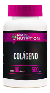 Colageno 500 Mg 60 Cápsulas Mais Nutrition Frete Gratis Br