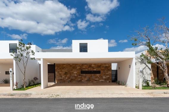 Casa Nueva En Venta En Privada Amidanah, Modelo B, Temozón Norte, Mérida Norte