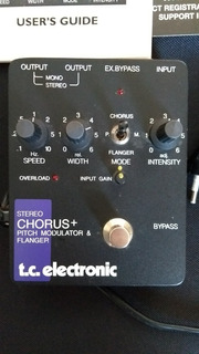 Pedal Guitarra Tc Electronic Chorus Flanger Eric Johnson Ce2